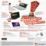 Singnet Broadband Samsung N150 Netbook Acer Aspire 4820T Notebook Apple MacBook