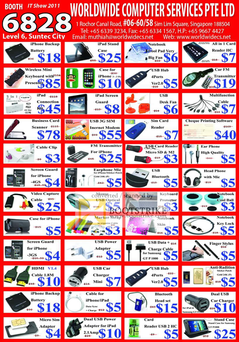 Worldwide computer accessories ipad iphone battery cool pad mouse it show 2011 price list image brochure of worldwide computer accessories ipad iphone battery cool pad magicingreecefo Image collections