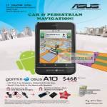 Garmin ASUS A10 Car Pedestrian GPS Navigation