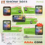 AAAs Com HTC Smartphones Wildfire Desire Z HD Incredible S