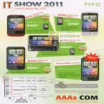 HTC Smartphones Wildfire Desire Z HD Incredible S