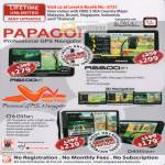 Papago GPS Navigator R6600 R6100 Q6031 Q4311 M3GPS SLA