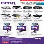 Benq Projectors MS612ST MX613ST MP776ST MP777 MP780ST SP870 MX880UST SP920P Monitors V2410 V920 G222HDAL