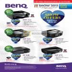 Benq Projectors MW512 MP515 MP525P SP840 MP670