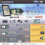 Tech Garmin GPS Navigation Nuvi 3790 1460 1350 1250