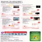 Fujitsu Notebooks Lifebook UH900BW RW VW P770 EB7WP-3W T4410PW T580B3WP