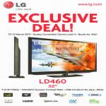 LG TV LD460 Exclusive Deal