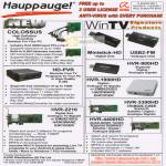 Hauppauge Colossus HD Recording Ministick USB2-FM HVR-900HD 1900HD PVR 3300HD 4400HD 2210 Video Capture Encoder