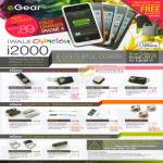 EGear IWalk Chameleon I2000 IPhone Battery IWalk EPA-IPH IStylus IGo Gee Panda Enclosure EPA-MSD