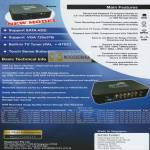 Iraku DVR All In 1 Device Digital Video Recorder NV-812 Features Technical Info