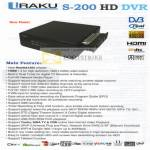 Iraku S200 HD DVR Features Media Player