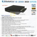 Iraku S200 HD DVR Features Media Player