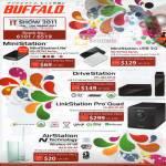 MiniStation Lite USB HD-PETU2 HD-PCTU3 DriveStation HD-LB2.0TU3 LS-QVLE-AP LinkStation Pro Quad AirStation WCR-GN-AP