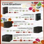 NAS LinkStation Live Pro Duo Quad LS-CHL LS-VL LS-WXL E LS-WVL LS-QVL