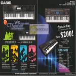 Music Keyboards WK-7500 WK-6500 CTK-7000 CTK-7000 CTK-5000