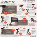 Joby Tripods Gorillapod Focus IPhone4 Case Ori Gorillamobile Yogi GorillaTorch Flare Blade