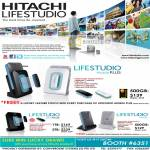Hitachi Lifestudio Mobile Plus External Storage Desk Plus
