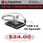 Kingston 19 In 1 Media Card Reader USB