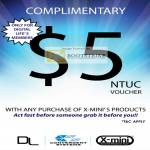 X-Mini Five Dollar Voucher