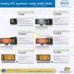 Desktop PC Inspiron 580MT 580S Notebooks Inspiron One 2310