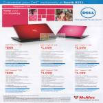 Notebooks Inspiron 14R 15R