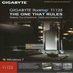 Gigabyte Notebooks Booktop T1125