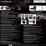 Veho Muvi Micro DV Camcorder Pebble Battery HD7 XT Pro Atom Extreme Scanner Microscope Keyboard Speaker Mouse