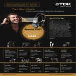 TDK Headphones Wireless WR700 ST800 EB900 NC 350 EB 750 IE 500 MT300 EC 250 MC300 EB300 EB100