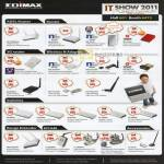 Edimax Networking ADSL Router 3G Wireless N Adapter Switch Range Extender IpCam Accessories