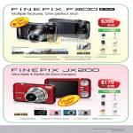Digital Cameras Finepix F300 EXR JX200 Harvey Norman