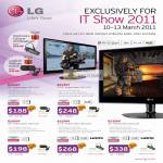 LG LED Monitors E2040T E2240T E2050T E2250V E2350V