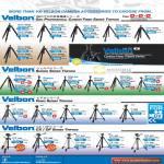 Velbon Geo N840 N540 Sherpa 600R Pro CF535 Video DV 7000 CX DF CX444 CX440