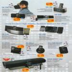 Leapfrog Sonicgear IPod Speakers DA100i 150i 200i 220i 300i IP7 Porta2 IP8 IBall2 IP12 Time Machine Sonic Array 1000