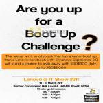 Boot Up Challenge Enhanced Experience 2