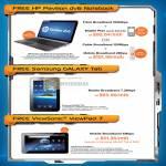 Fibre Cable Mobile Broadband HP Pavilion DV6 Samsung Galaxy Tab Viewsonic Viewpad 7