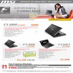 Corbell Notebooks F Series FX400 FX603