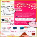Toshiba Pala-Chan Papu-Chan Kujiran Friends Fun Set Optical Mouse Flash Drive