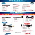 Samsung DVD Players DVD-C370 DVD-C550 HR-733A 775A BD-C5500 HW-C450 MM-C330D HT-BD82200 HT-C750 Home Theater Hifi