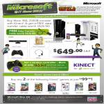 Microsoft Xbox 360 Kinect Wireless Controller Game Launches Sports Joy Ride Dance Central Kinectimals Motions Sports