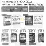 Nokia Mobile Phones Nokia E7 N8 X5-01 C5-03 E5 C6-01 C7