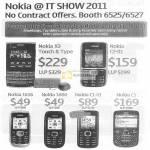 Nokia Mobile Phones Nokia X3 C2-01 1616 1800 C1-01 C3