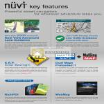 GPS Nuvi Key Features ERP Real View Lane Guidance TMC WebMap RichPOI