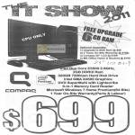 Compaq Presario Desktop Free Upgrade 6GB RAM