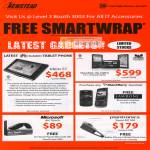 Free Smartwrap Huawei Ideos S7 Tablet ViewPad 10s Blackberry Jawbone Microsoft Arc Touch Plantronics Savor M1100