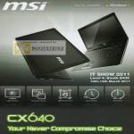 MSI Notebooks CX640