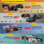 Digital Cameras Coolpix P500 L120 S2500 L23