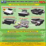 Sepoms Printer Bundle Packages Free Ink Supply System