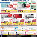Digital Cameras FE-4030 XZ-1 I.Zuiko Lens Tough VG VG-130 TG-310 610 Voice Recorder VN-8600PC WS-650S 750M 760M DM-450 550 5 LS-11
