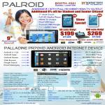 Palroid Android Media Player PR70HD