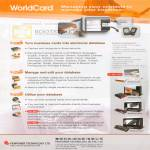 WorldCard Business Card Features